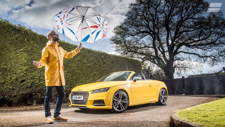 2015 Audi TT S Roadster - rain or shine