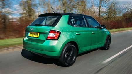 Top 10 family cars - Skoda Fabia