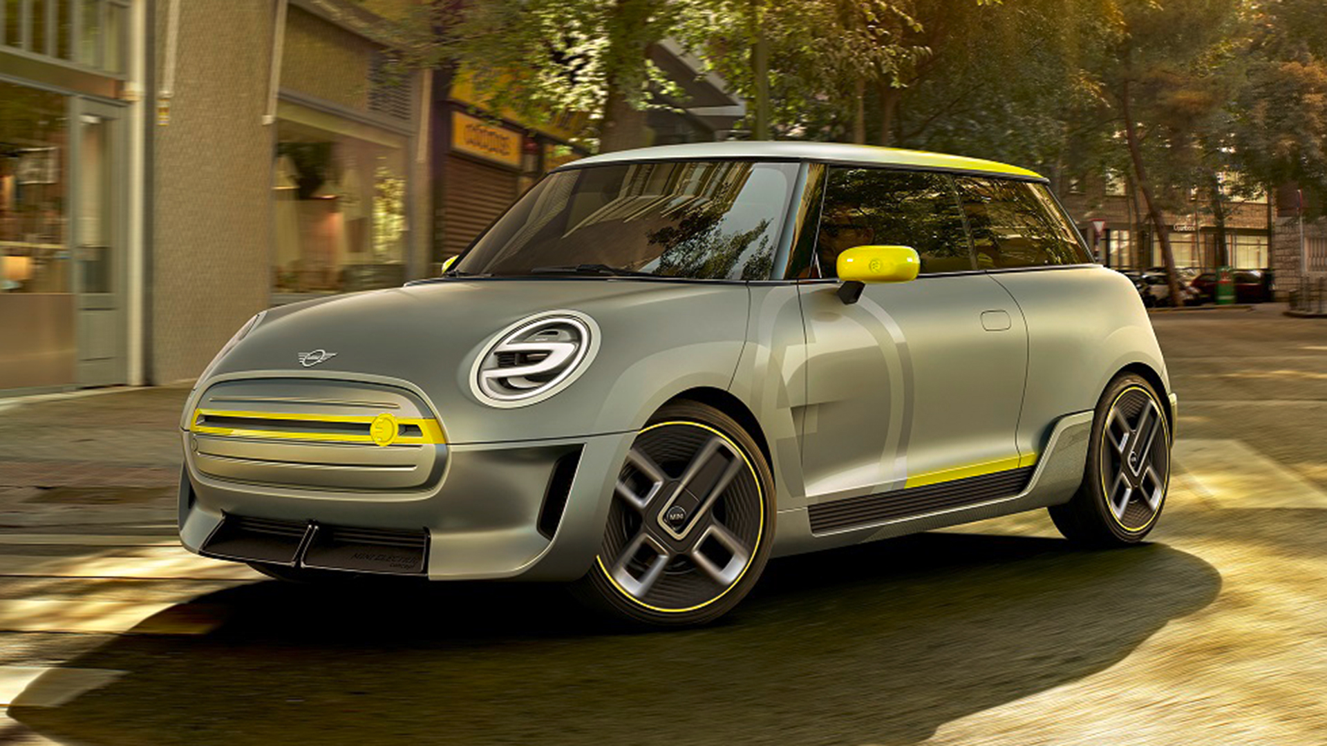 MINI Electric Concept for Frankfurt - production 2019