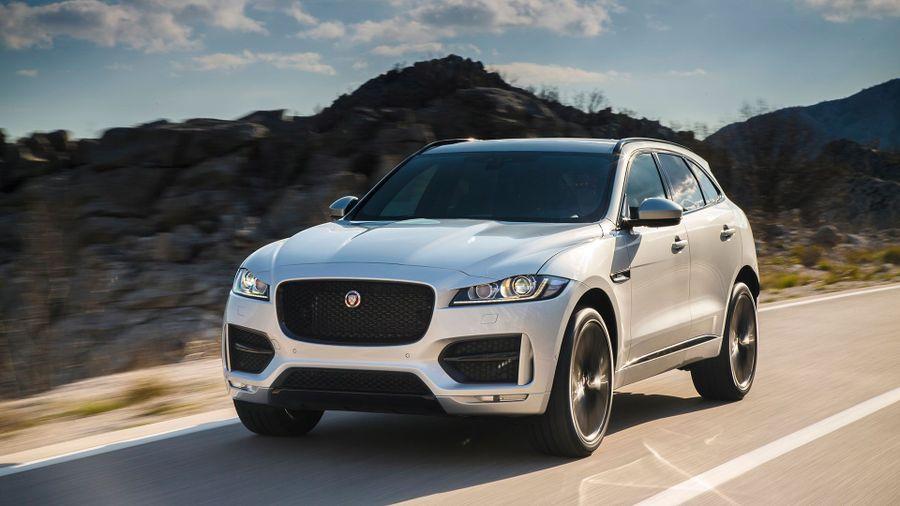 2016 jaguar f pace r sport first drive review auto trader uk. Black Bedroom Furniture Sets. Home Design Ideas