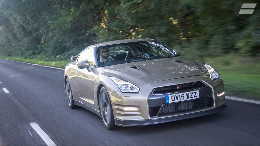 2015 Nissan GT-R 45th Anniversary dynamic
