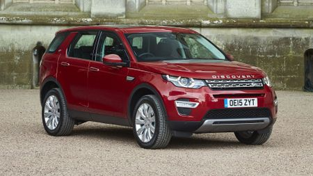 Top 10 family cars - Land Rover Discovery Sport