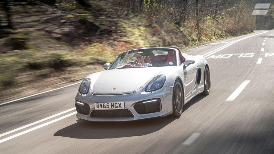 Porsche Boxster Spyder First Drive Review Auto Trader Uk