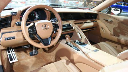 Lexus LC 500 Chicago Auto Show