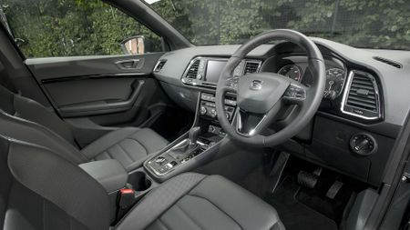 2017 Seat Ateca interior