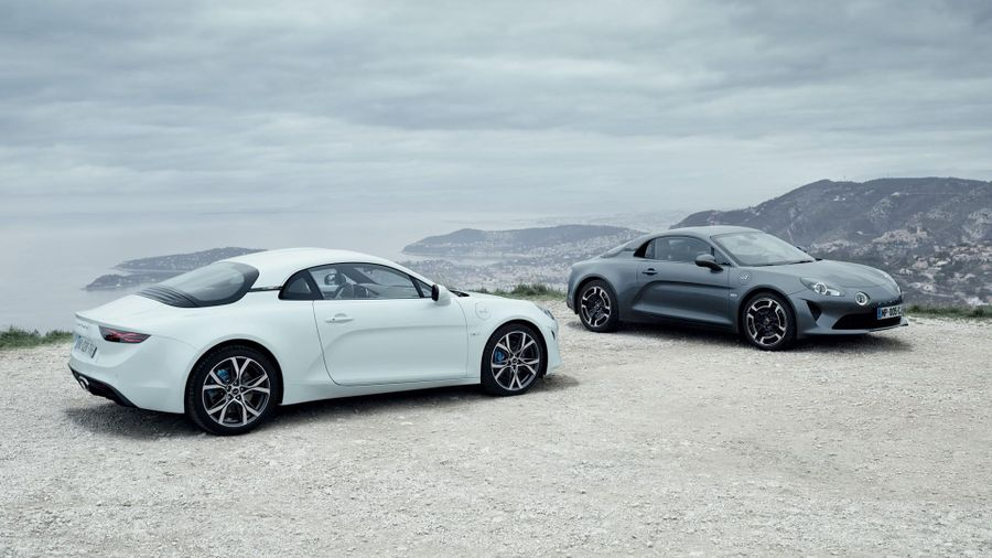 Alpine A110 Geneva Motor Show 2018
