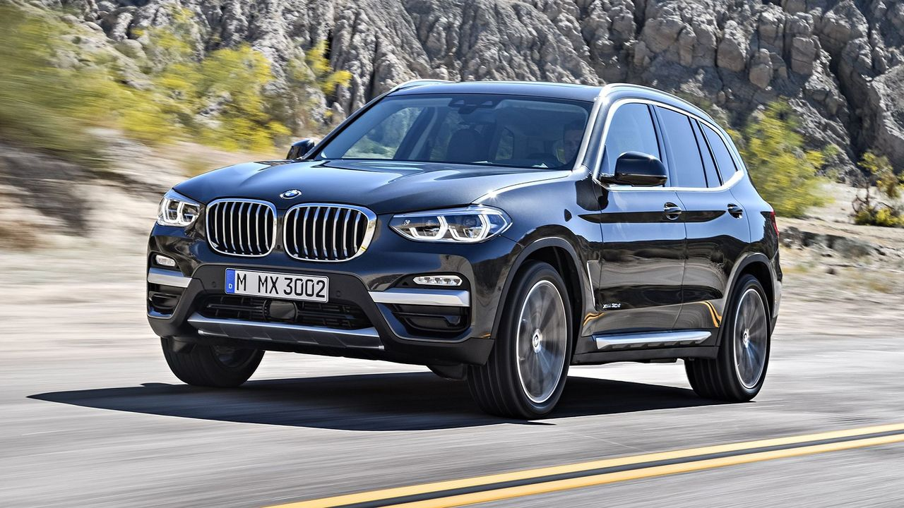 new bmw x3 suv to go on sale in november auto trader uk. Black Bedroom Furniture Sets. Home Design Ideas
