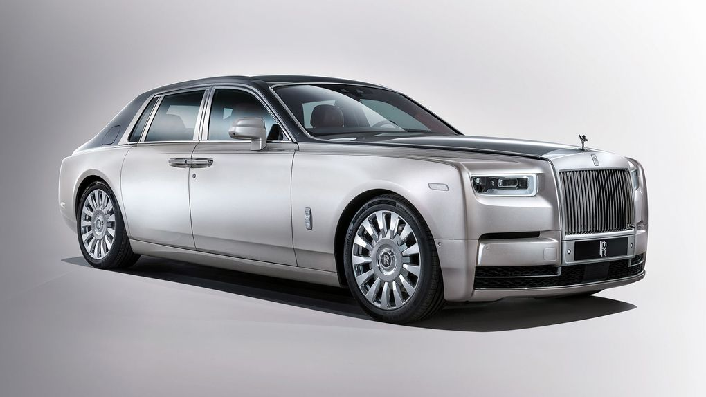 Rolls-Royce unveils new Phantom