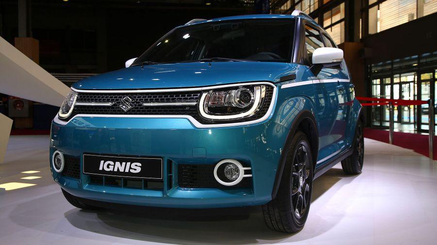 2017 Suzuki Ignis Paris Motor Show