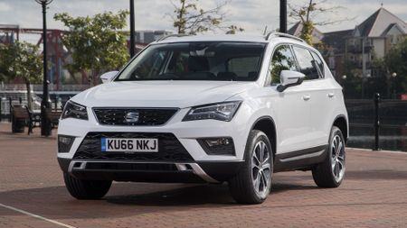 2017 Seat Ateca front side