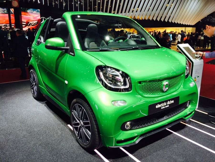 Smart ForTwo EV Paris Motor Show 2016