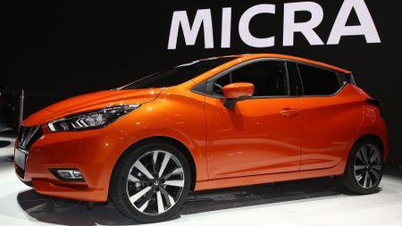 Nissan Micra Paris Motor Show 2016