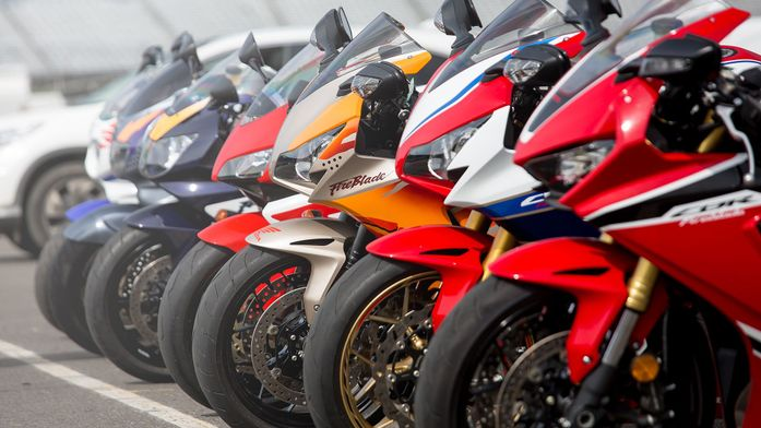 25 years of the Honda Fireblade
