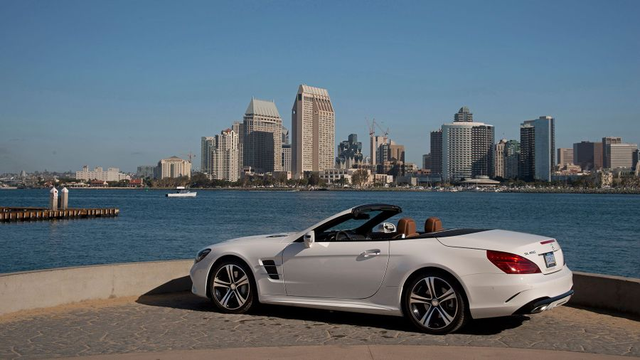 2016 Mercedes SL road trip
