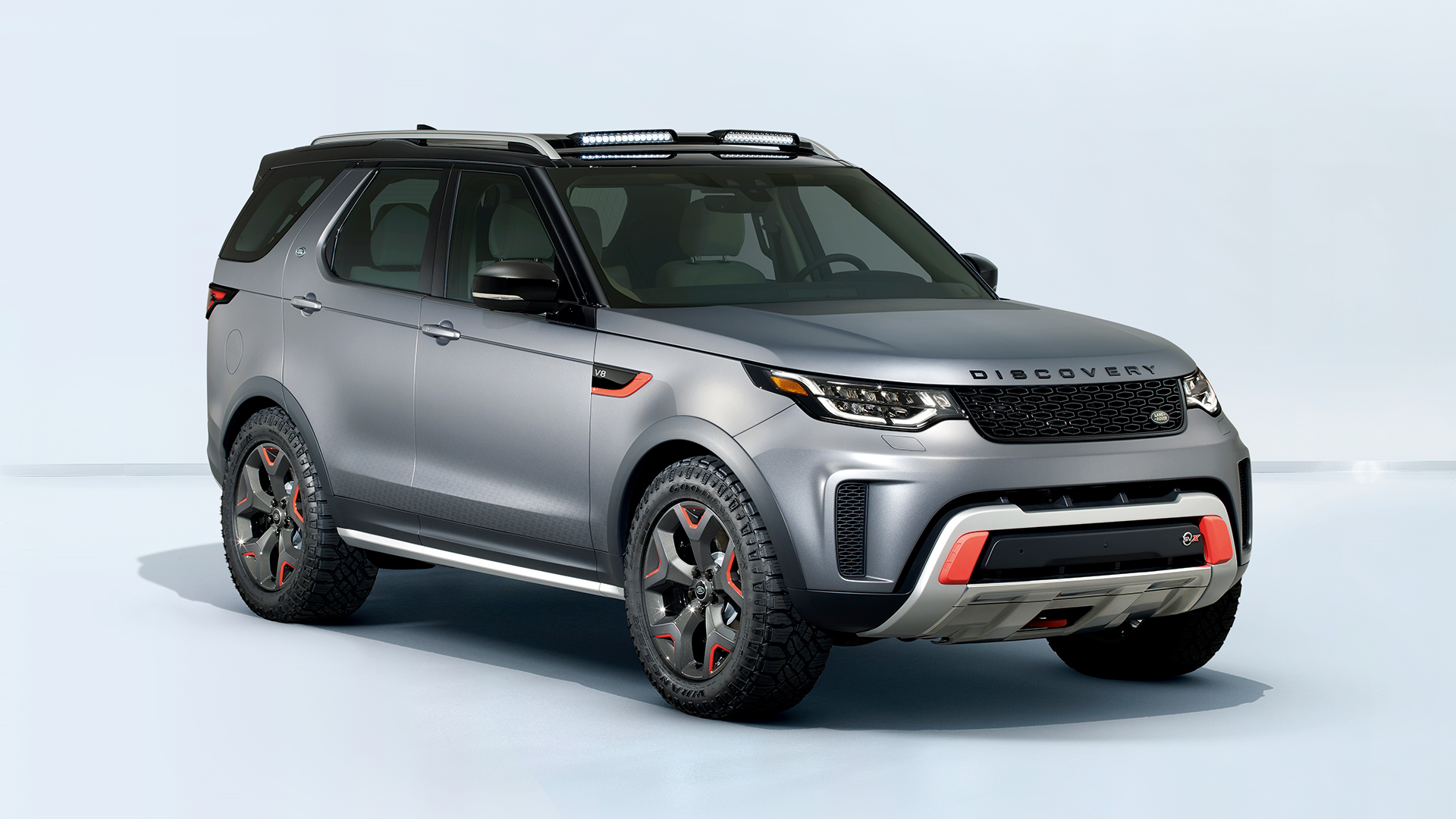 The Discovery SVX is Land Rover's ultimate off-roader
