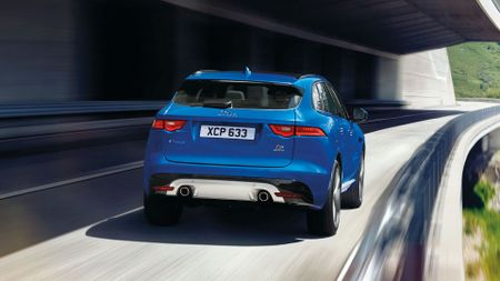 All-new Jaguar F-Pace SUV revealed