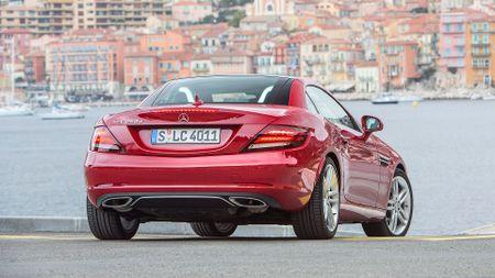 2016 Mercedes SLC