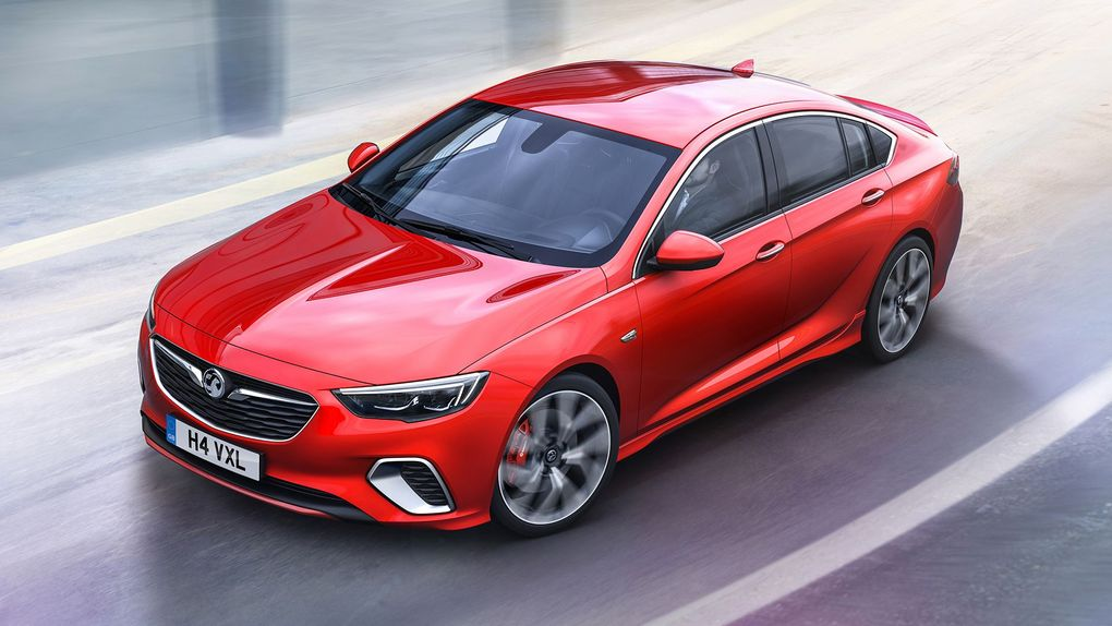 Vauxhall reveals high-performance Insignia GSi