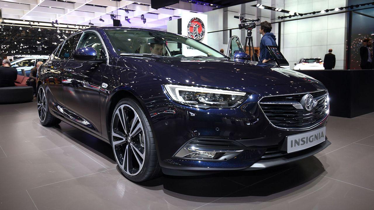 New Vauxhall Insignia Grand Sport Revealed At Geneva Show