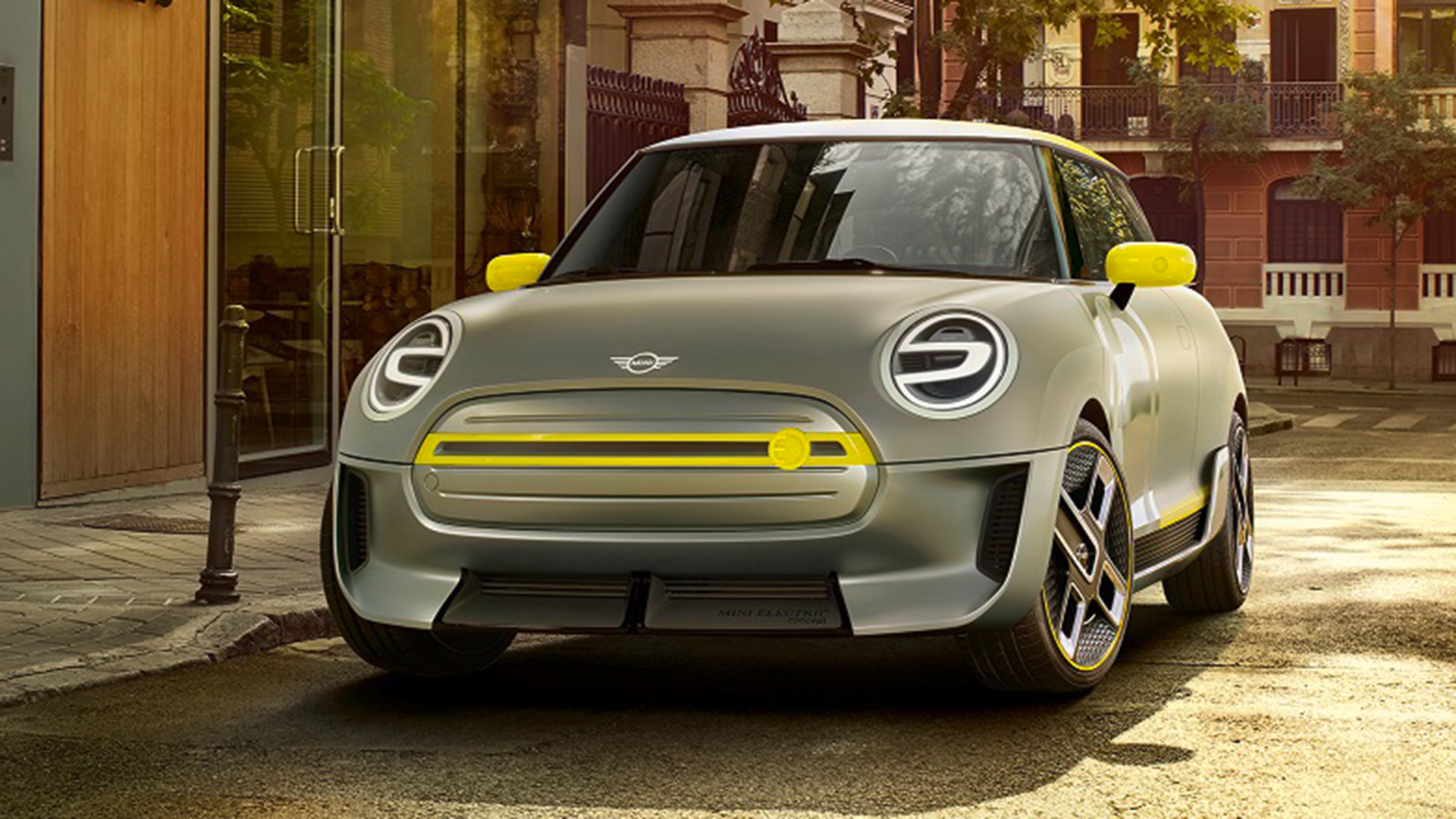 BMW unveils new Mini design for electric powered auto