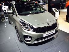 Kia Carens 2016 Paris Motor Show