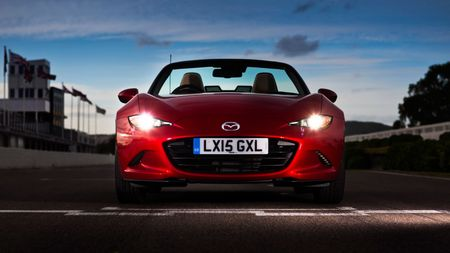 2015 Mazda MX-5 2.0 Sport Nav static