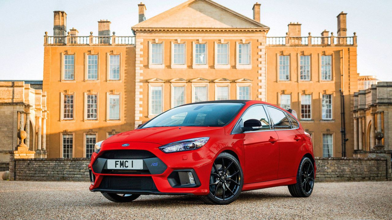 2018 Ford Focus RS Red Edition