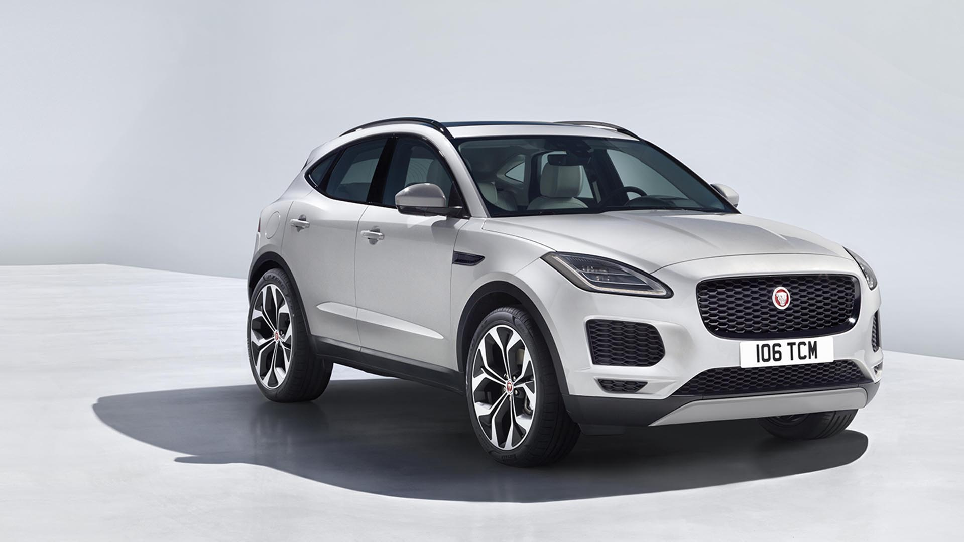 Jaguar reveals E-PACE crossover by making it do a barrel roll