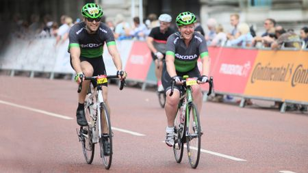 Ride London 2016 Skoda Jon Quirk May Starey