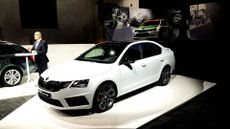 Skoda Octavia vRS Vienna reveal January 2017