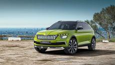 Skoda Vision X concept Geneva Motor Show