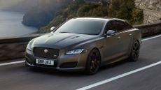 Jaguar shows off revised XJ luxury car