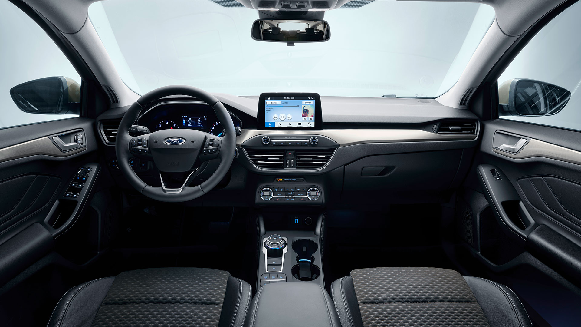 Slimmer Outside, Roomier Inside — Ford Focus