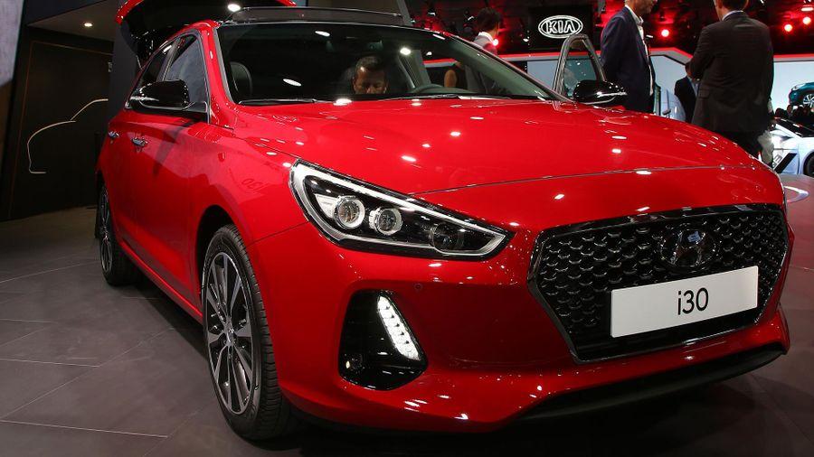 2017 Hyundai i30 Paris Motor Show 2016