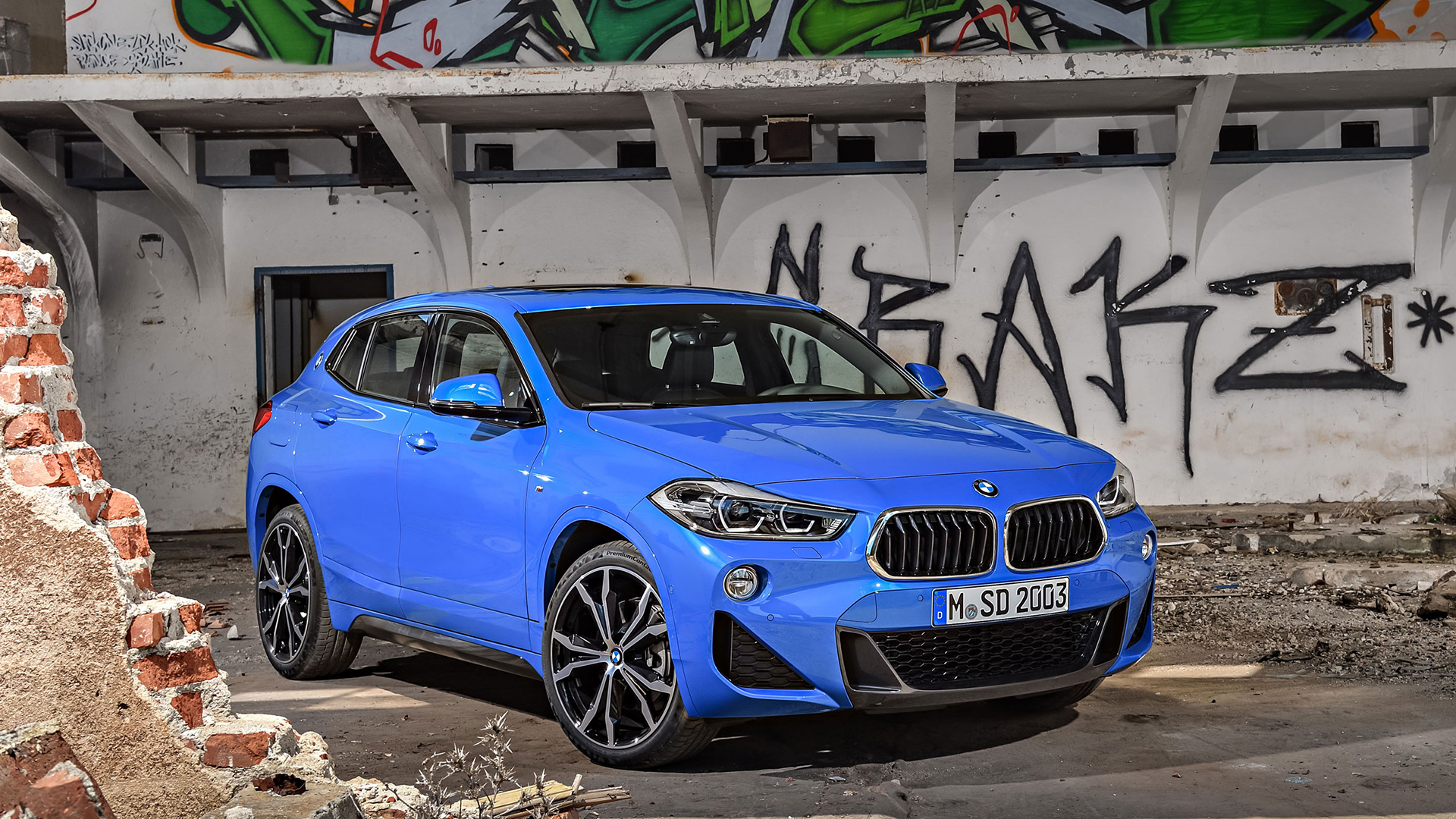 The New BMW X2 Brings Some Extra Style To The Small SUV Market, And Rivals  Cars Like The Range Rover Evoque.