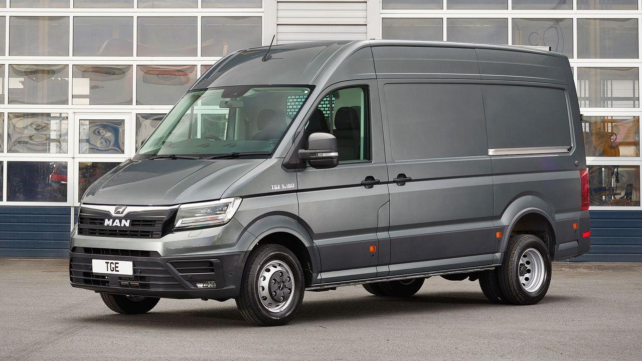 truck maker man enters the van market with new tge auto trader uk. Black Bedroom Furniture Sets. Home Design Ideas