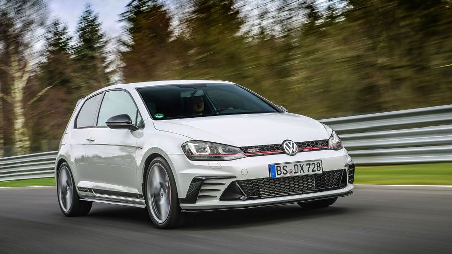 2016 VW Golf GTI Clubsport S track