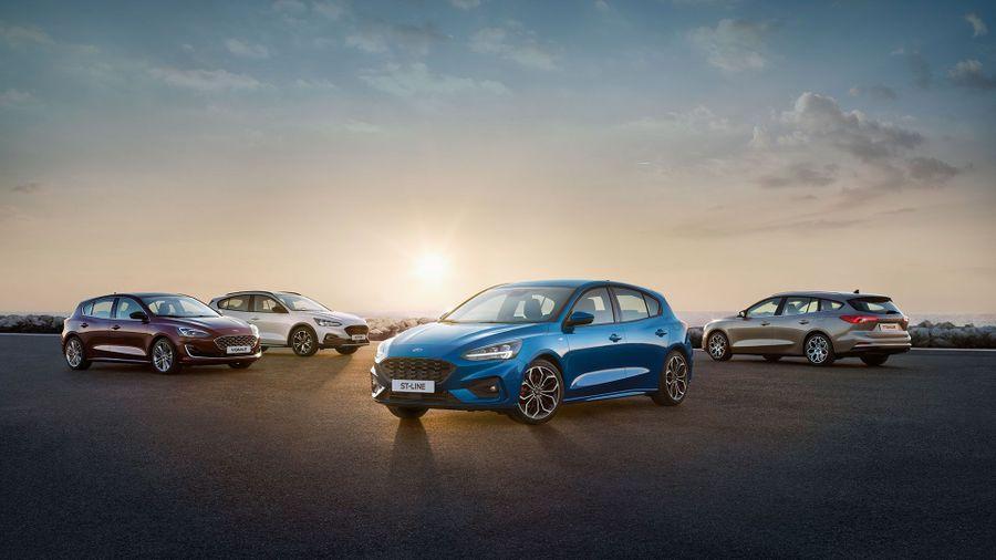 All-new 2018 Ford Focus range
